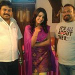With #Reporter director @kathimahesh and cameraman #mujeer sir ☺