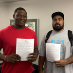 Draft picks Star Lotulelei & Edmund Kugbila have signed on the dotted line! Welcome to #PantherNation! #KeepPounding http://t.co/9S9YCV66At
