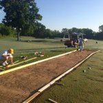 Artificial Turf Hitting Stations being installed at the Player Development Complex today! #gomocs http://t.co/v5VIPOFsqP