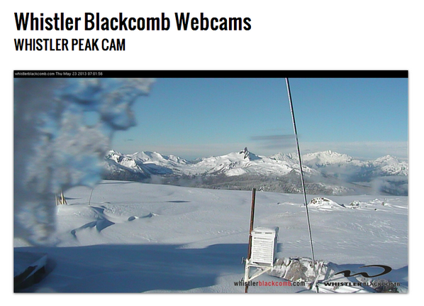 RT @MikeDski: Looking like a bluebird pow day @whistlerblckcmb http://t.co/gv3LS6ADeX