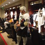 Brandon Inge shows up in clubhouse today in full hockey attire -- pads, gloves, roller blades. #pirates http://t.co/nZQWB12jgb