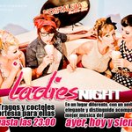 Ladies Retro  Night Tragos y cócteles de  Cortesía para ellas   hasta las 23:00 https://t.co/kF6jyJJqms
