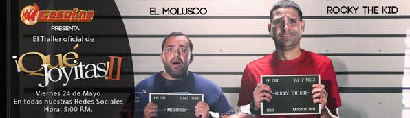 Este viernes 5 PM el estreno del Trailer con @Moluskein @RockyTheKid @Jessykamarie1 @krlosferrer @CarlosVegaAbreu http://t.co/w6nOMa10UP
