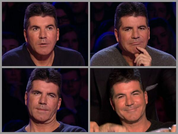 Are you ready for @GotTalent? We saw some funny faces from @SimonCowell last week, tune in for more at 7.45pm #bgt http://t.co/ahTk063fDX