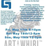 Final day of #ArtaWhirl! Today, 12-5! Join @mellowfury &amp; @smirkingtiger on the geekier side of #ArtAWhirl at @geekps. http://t.co/IFmFpWAdpi