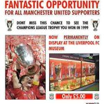 Fantastic opportunity for all Manchester United supporters!