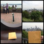 Second stop: Kerry Park Viewpoint. #theblessedunrest http://t.co/Df1l2u7Shm