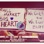 Small Market... Big Heart. #GritnGrind http://t.co/XPigNwNAk0