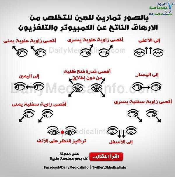RT @AlshehriEyeMD: من غير الثابت طبيا فائدة هذا النوع من التمارين، بل قد تزيد من إجهاد العين   http://t.co/NHsE9hZI11 @TopDoctorz @doctors_tweets