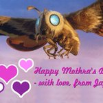 Happy Mothra's Day from Japan!  #mothersday #mothra