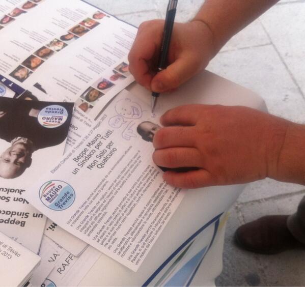 @GrandeTreviso @Lorenza_Ra: Dedicato agli elettori di Treviso da parte di @beppe_mauro #GrandeTreviso #treviso http://t.co/NnCZt6A6Jd