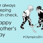 Happy Mother's Day, #Olympics fans!