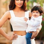 #BollywoodMotherSonDuo  Shilpa Shetty with her son Viaan