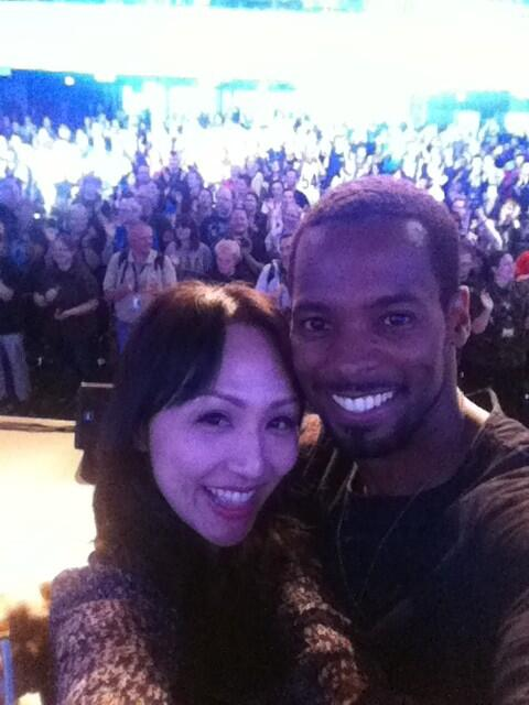RT @realLindaPark: Thank you FedCon and fans for all the love!!! Tchuss! @MrAMontgomery http://t.co/xDarPsRAAw