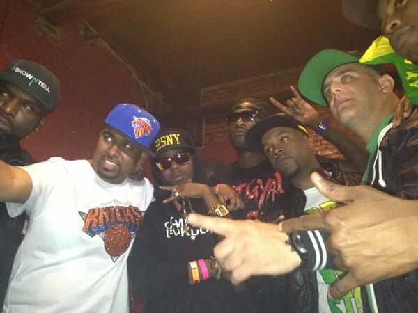 Tunup!!! @Tropical_Blendz @ranchent RT @MsCocoaTee: @RSNYMUSIC @DJAPACHE enjoyed the show once again fellas http://t.co/U9R6Fe6msV