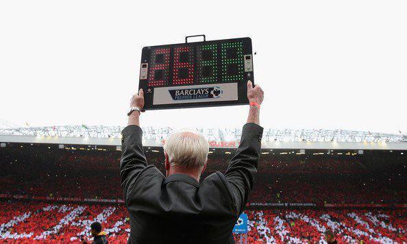 Sir Alex Ferguson: 26 años, 38 trofeos http://t.co/gm5ghRxNQa