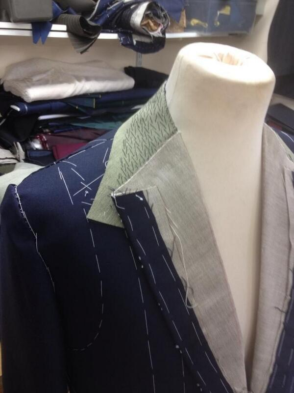 Nice piece of handwork and attention to quality! #bespoke #tailoring #Savilerow # style #menswear http://t.co/lipS7XQfZv