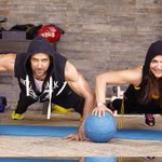 Hrithik Roshan works out with his mom!
