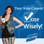 RT @OnlyVhongAnne: Your Vote Counts! VOTE WISELY! A message from @annecurtissmith and @SanMigCoffeeMIX