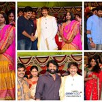Check out photos of Tollywood celebrities at actor #Gopichand's wedding. http://t.co/J8Iqz40txW