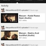 RT @ashokparwani: @tamil_films Enjoy  all songs of #Maryan in HD quality http://t.co/bvEw7PwFEb
