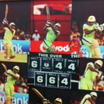 At the #rcbgogreen initiative in 2011 @henrygayle went berserk @rcbtweets