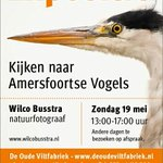 Straks naar de #expositie van natuurfotograaf @wilcobusstra http://t.co/5wGxGkDkR3