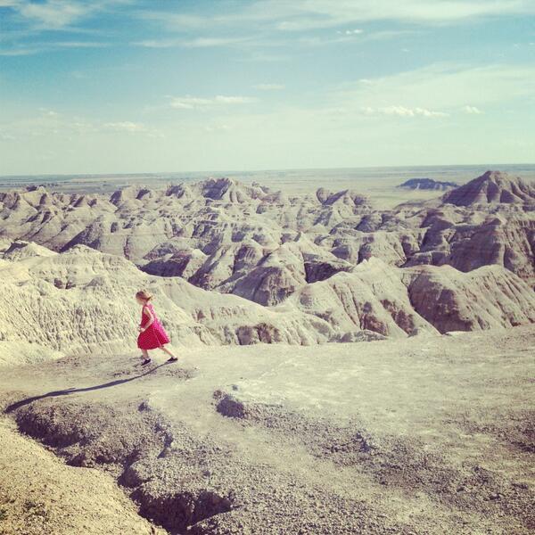 RT @PrudentBaby: Do NOT run! Sigh #myheart #southdakota @southdakota #badlands http://t.co/3bJpqmAvDd