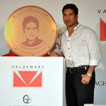 Tribute to the Master Blaster Valuemart unveils limited edition @sachin_rt Gold Coins