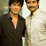 Xclusive Pic @Siva_Kartikeyan with #SRK