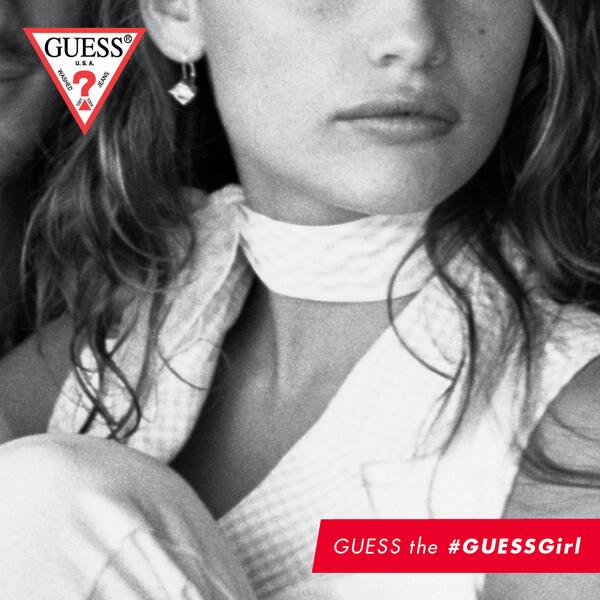 Can you guess this week's #GUESSGirl? Hint: this multi-talented beauty played in a band with Nicole Richie as well! http://t.co/BQDm5NrIiL