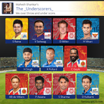 We rolled out a new feature today. Check it out. Here's my squad for today's match. #FantasyIPL