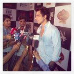 RT @MandviSharma: @sonusood18 giving interviews at the success party of Shootout At Wadala