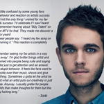 THIS. RT @LessThan3: Just let the artist be the artist, @Zedd makes his point: