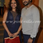 RT @TalentMantra: @ActorMadhavan with his wife at Rakesh Sinha's DVD launch