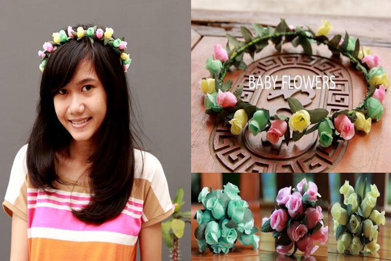 Baby Flower Headbands Diy