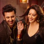 Exclusive: @MadhuriDixit1 and Ranbir Kapoor's stills from Ghagra. #HappyBirthdayMadhuri -http://t.co/Yc2Bp14XNM ::