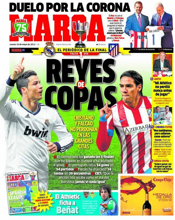 #LaPortada 'Reyes de Copas' http://t.co/dOzCkh2OpZ