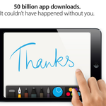 App Store Reaches 50 Billion App Downloads http://t.co/2fmL80R2Oe