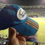 When the Master's signed cap is in the fortress called Wankhede, #MI has never lost... 