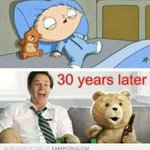Love TED... Nd Love Stewie :-)