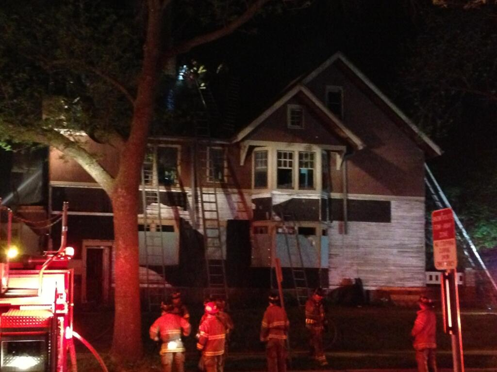 ABrovelli : Vacant House Fire at 33rd State. The same house where ...