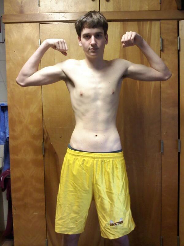 skinny wrestler