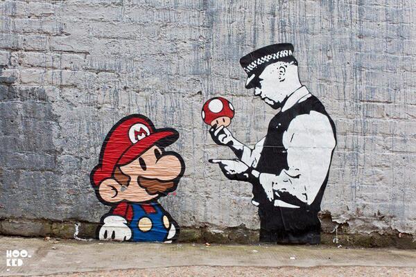 Arrestato #SuperMario !  #streetart #graffiti http://t.co/eq3o4wG89c