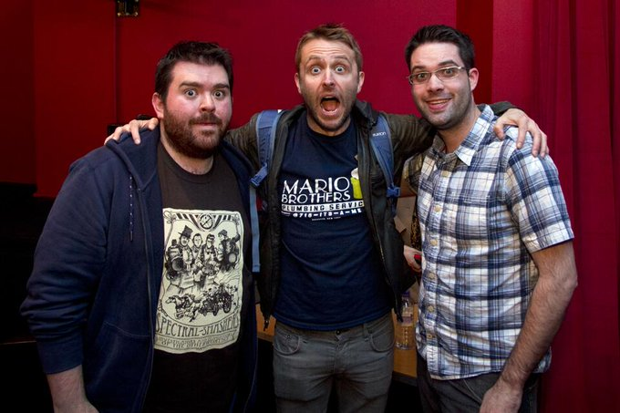 "Here's a quick pic from yesterday getting to meet Chris Hardwick <em>@</em><a class=""linkify"" href=""https://twitter.com/nerdist"" rel=""nofollow"" target=""_blank"">nerdist</a> <a class=""linkify"" href=""https://twitter.com/#!/search?q=%23StillGeekingOut"" rel=""nofollow"" target=""_blank"" title=""#StillGeekingOut""><em>#</em>StillGeekingOut</a> <a class=""linkify"" href=""http://t.co/j35NFr5EPO"" rel=""nofollow"" target=""_blank"">http://t.co/j35NFr5EPO</a>"
