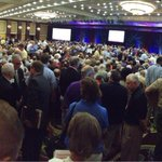 Check out how many people were at the national meeting in Texas for the vote on the boy scout ban http://t.co/046Ed8Isp6