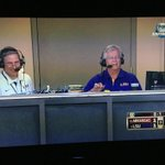 LSU Sports Radio Network gets some air time on @FSSouthwest after dodging a foul ball that entered booth. http://t.co/Hgd6852ciY