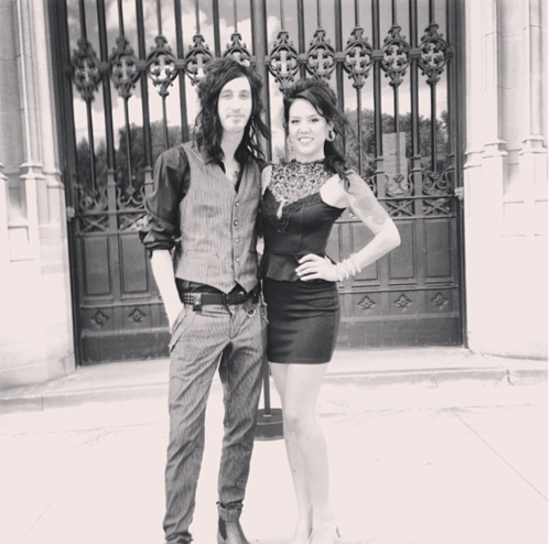 Jamie larson and cameron liddell