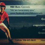 RBI Bats from Quispamsis, NB http://t.co/way7IcPxlT
