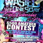Tonight THE RETURN OF #WASTEDWEDNESDAY  @ #STROKERS #1 Summer Party IS BACK $5Dances & $3Beers http://t.co/G4WMJ3JUty #FortuneENT 🆖